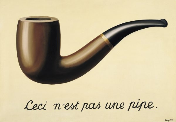René Magritte   Ceci n'est pas une pipe   59 x 65cm   Öl auf Leinwand  1948