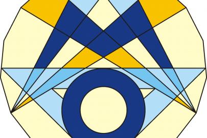 Das ist das Logo der Mathematik-Olympiade