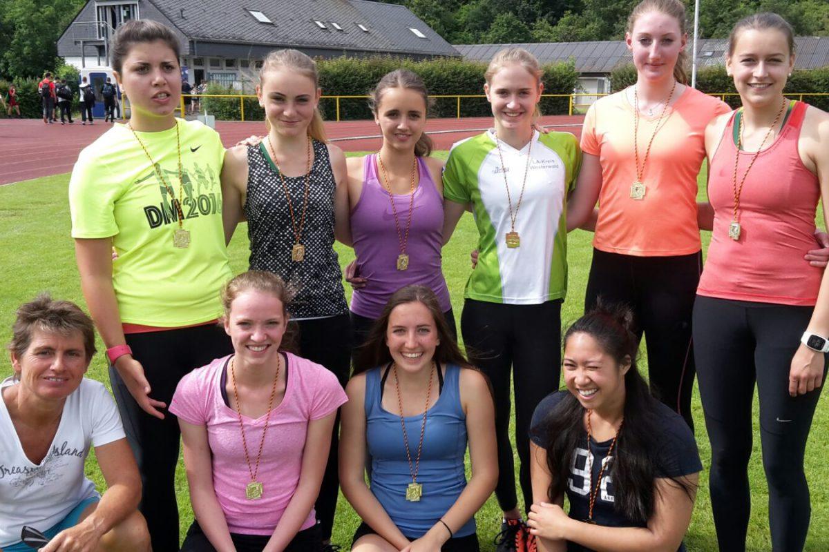 Riesenerfolg bei Jugend trainiert für Olympia