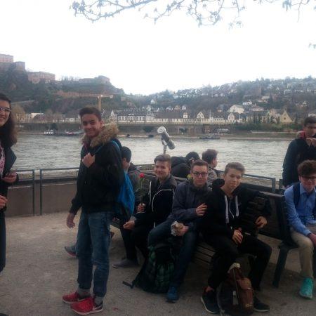 Am Rhein in Koblenz
