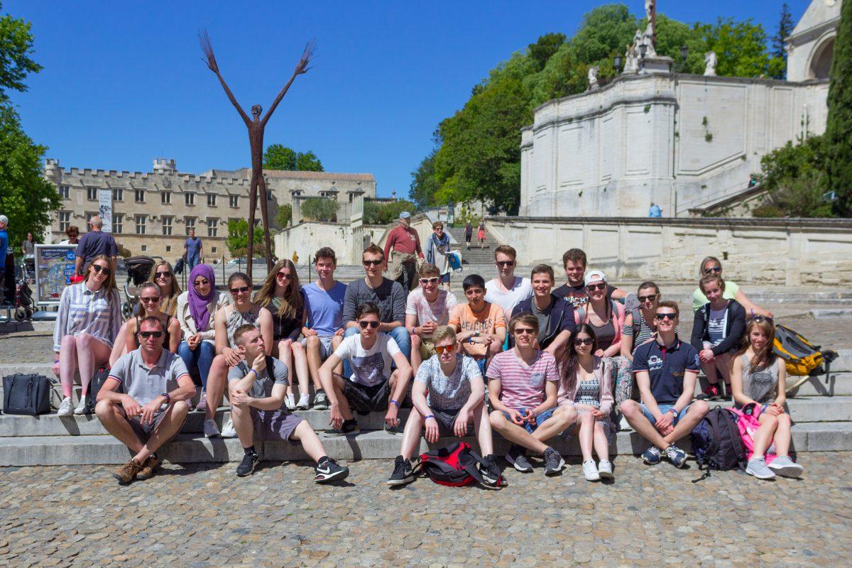 Studienfahrt in die Provence im Mai 2017