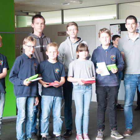Mathematik Känguru-Wettbewerb 3. Plätze