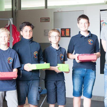 Mathematik Känguru-Wettbewerb 2. Plätze
