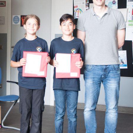 Mathematik Känguru-Wettbewerb 1. Plätze