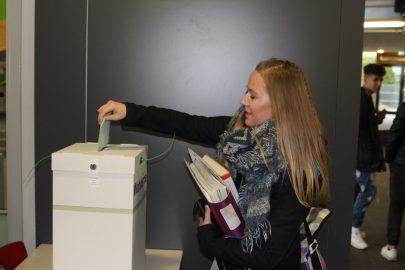 erfolgreiche Stimmabgabe