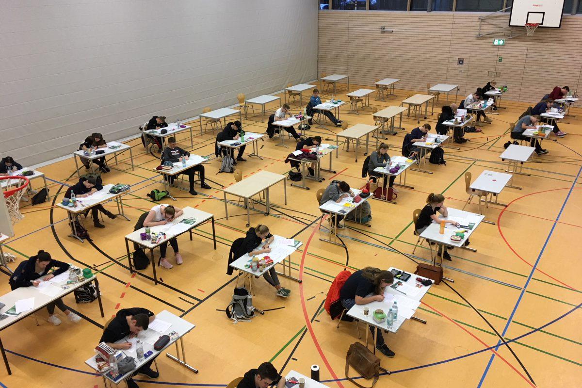 Schriftliche Abiturprüfungen haben begonnen