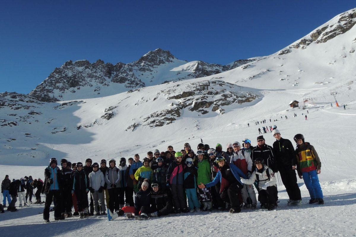 Bad Marienberger Skihasen unterwegs in den Hohen Tauern