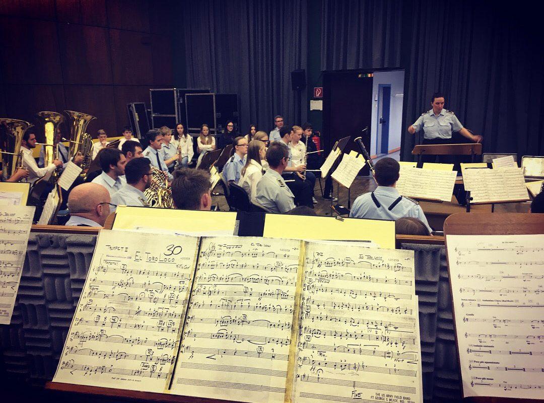 Besuch der Swing Combo beim Heeresmusikkorps Koblenz