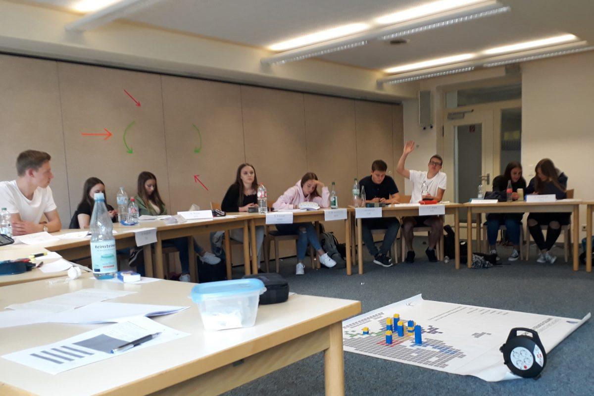 Demokratietag der Klassen 10 im Europahaus Bad Marienberg
