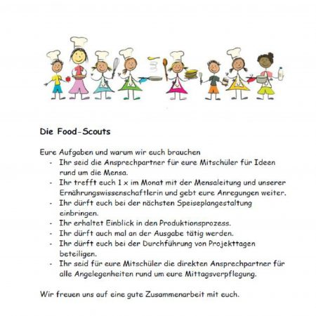 Aufgabenfeld der Food Scouts