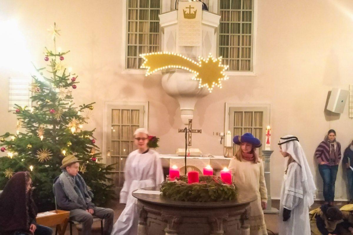 Impressionen Weihnachtsgottesdienst 2018