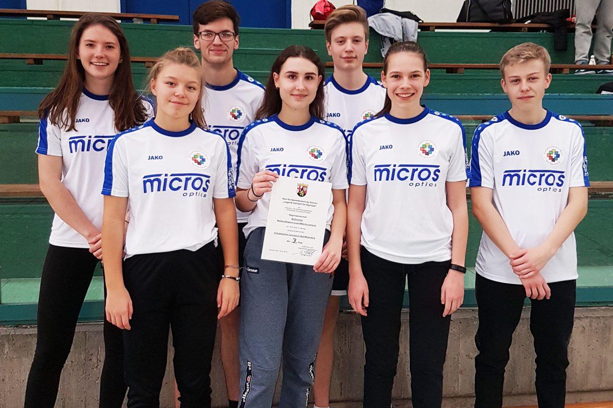 Jugend trainiert… Badminton