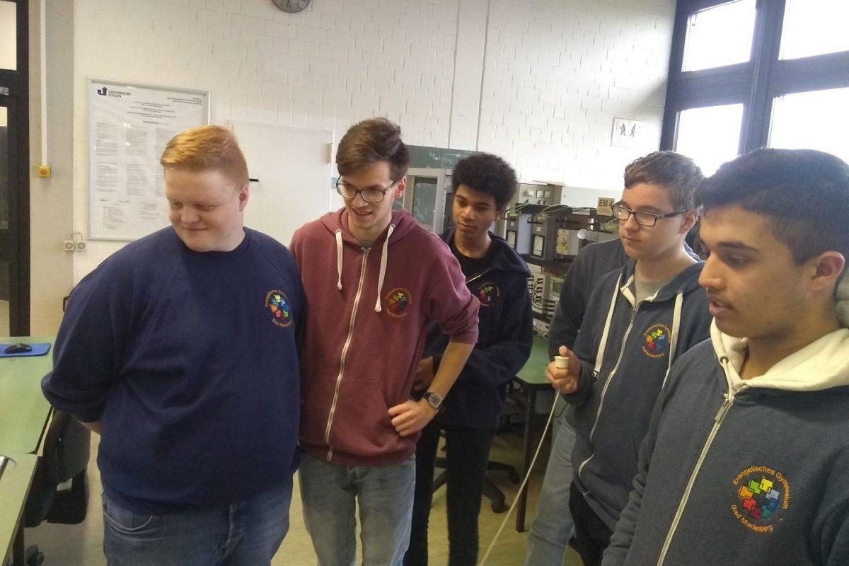 Junioringenieure an der Uni Siegen