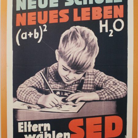 Wahlplakat der SED