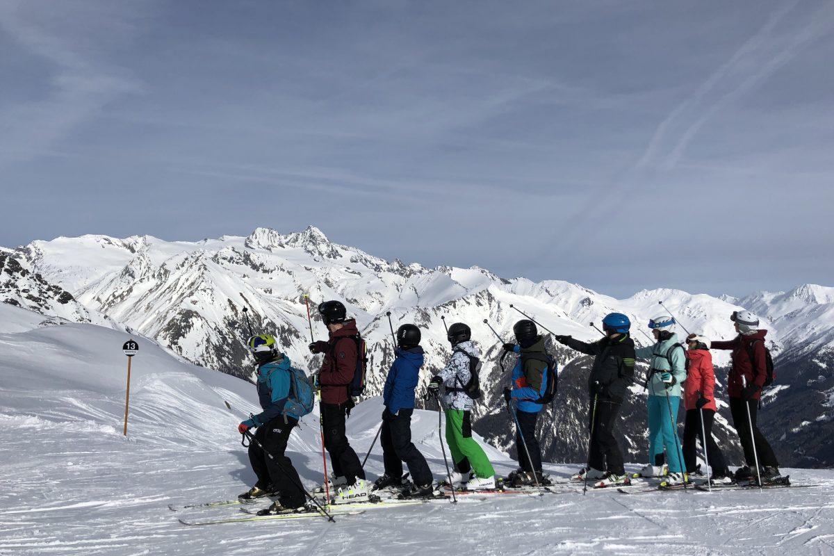 … am Fuße des Großglockners – Skifahrt 2019