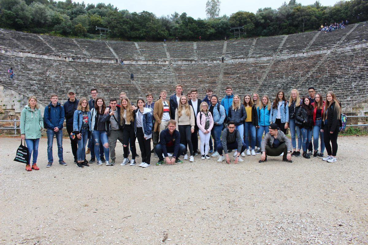 Studienreise Griechenland – efcha kallas!