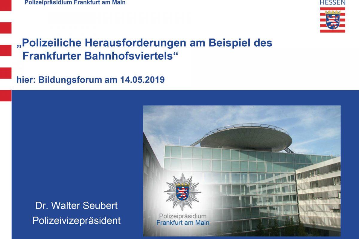 """""""Sicherheit für Mainhattan"""""""