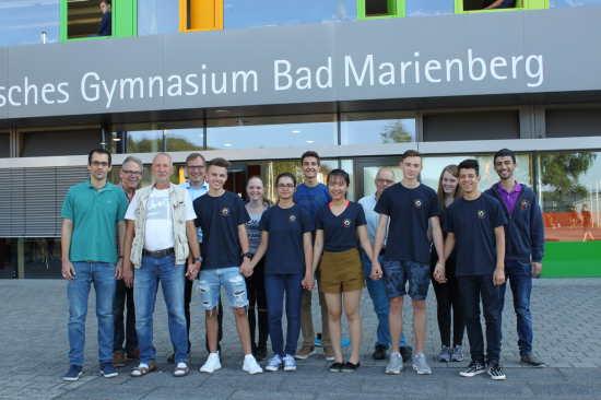 Evangelisches Gymnasium Bad Marienberg bekommt Preis für Flüchtlingsarbeit
