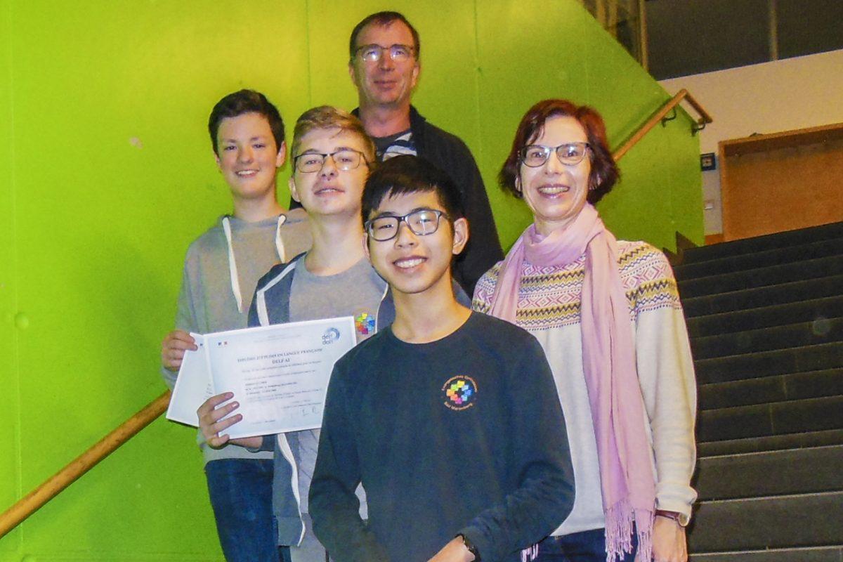 DELF-Prüfungen erfolgreich absolviert
