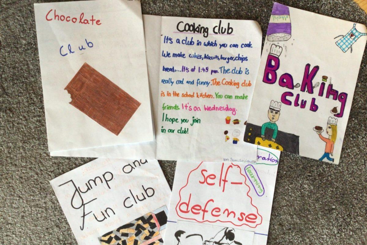 Kreatives aus den Klassen 5 und 6
